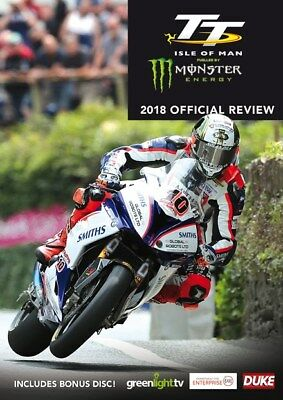 Isle Of Man TT 2018 Official Review DVD