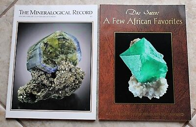 Mineralogical Record 2014 Vol. 45 #1 Panasqueira & Des Sacco African Supplement