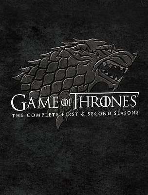 Game Of Thrones: Seasons 1 and 2 (Blu-ray Disc, 2014, 10-Disc Set) COMPLETE