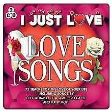 I Just Love-Love Songs by Various   CD   condition new