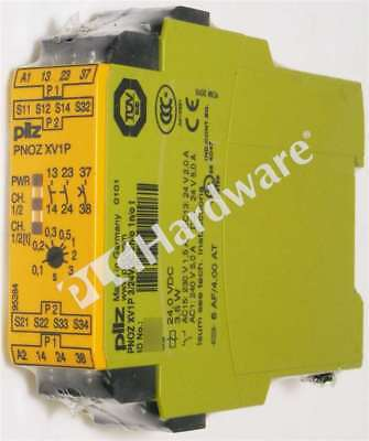 New Sealed Pilz PNOZ XV1P 3/24VDC 2n/o 1n/o t Safety Relay (standalone) Qty
