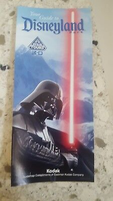 Disneyland Star Wars Land Disney Park Map Guide Darth Vader Galaxy's Edge Galaxy