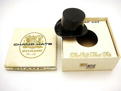 Vintage Champ Hats Miniature Top Hat Giveaway Promotion In Box