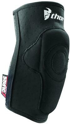 Thor S9 Black Static Elbow Guard L/XL Adult Unisex MX Dirtbike Elbow Pad