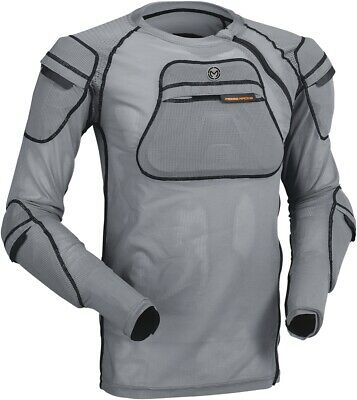 Moose Racing Mens XC1 Body Armor Grey Sm/Md