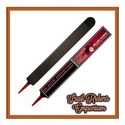 Heller Black Master Hoof Rasp for Dry weather conditions.