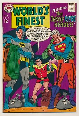 World's Finest Comics #173 (Feb 1968) First Silver Age App of Two Face
