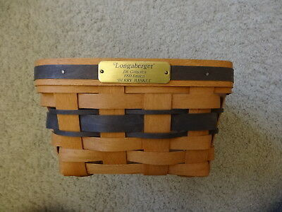 Longaberger Basket 1990 Edition Berry Basket JW Collection