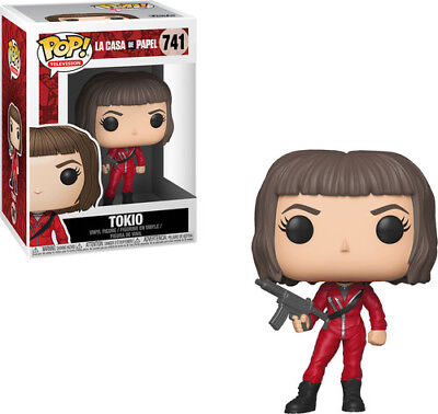 Money Heist - Tokiow - Funko Pop! Television: (2018, Toy NUOVO)