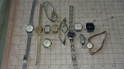 Vintage Ladies Watches (Bulk Lot).clock,parts,man cave,wrist,old,workshop,tools.