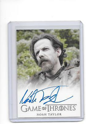 Game of Thrones Season 4 Noah Taylor as Locke Full Bleed Auto Autograph