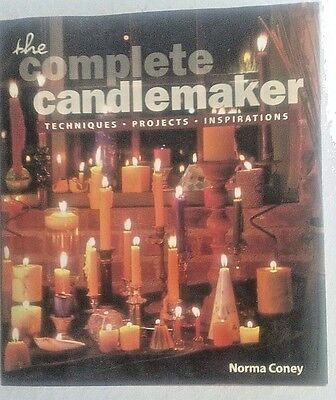 Book-The Complete Candlemaker by Norma Coney, Techniques, Projects, Inspiration
