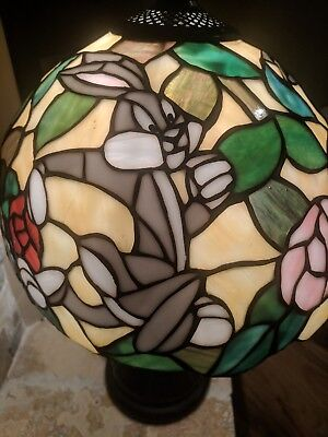 Stained Glass Bugs Bunny Lamp