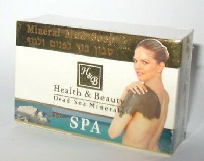 125 Gr 4.4 Oz Facial Face Dead Sea Mineral Mud Soap