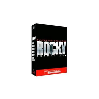 Coffret Rocky Anthologie Edition Speciale limitee Sylvester Stallone DVD Zone 2