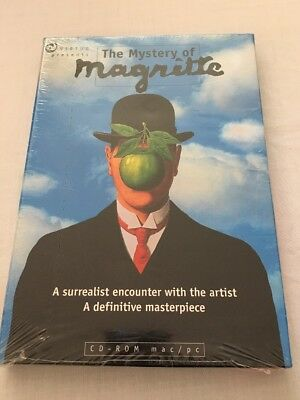 The Mystery Of Magritte CD ROM Mac/Windows New and Factory Sealed
