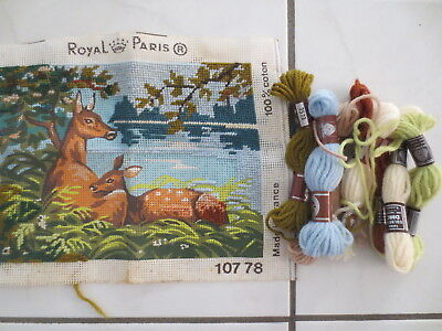 Craft Tapestry Unfinished Royal Paris Deer 107 78 Kit