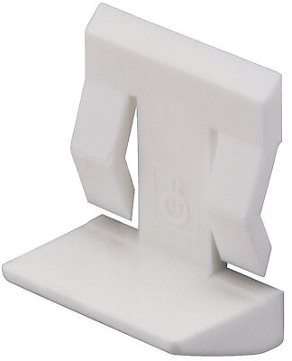 Shelf Support Spring Clip Bracket for 5mm Hole White or Brown to Choose