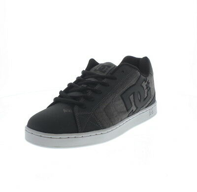 DC SHOES NET SE Black Black White Skate Shoes - EUR 52 d8ea317feb0