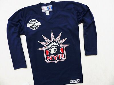 VINTAGE NEW YORK RANGERS 30 CCM NHL ICE HOCKEY JERSEY SHIRT TOP s. L ( ac519d971