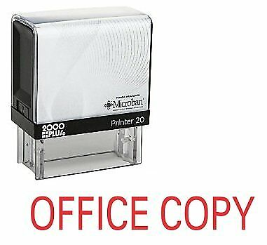 OFFICE COPY Office Self Inking Rubber Stamp - Red Ink (E-5320)