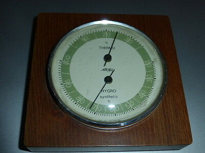 Hygrometer - Thermometer APollo voll funktionsfähig