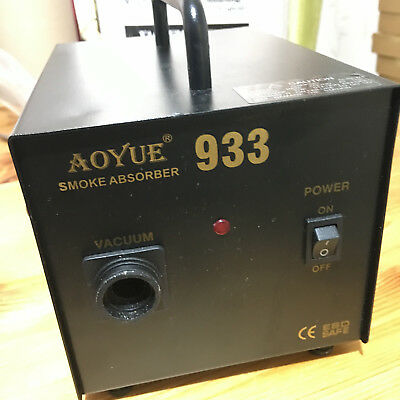AOYUE 933 Solder Fume Extraction System Smoke Absorber Soldering Iron
