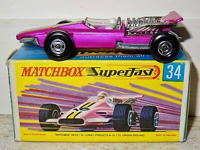 Matchbox Superfast Racing Car Formula 1 Zustand Top Autos, Lkw & Busse Modellbau