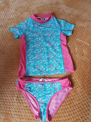 BNWOT Fat Face Brightly Coloured Flamingo Swimsuit Age 4-13 Years Girls