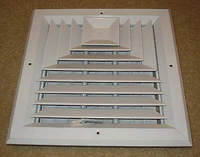 Hart and Cooley A503MS Square HVAC Diffuser grill