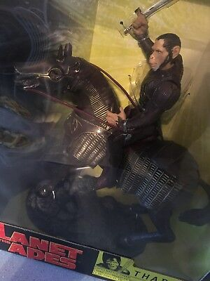Planet Of The Apes ..Thade On Horseback Figure 2001