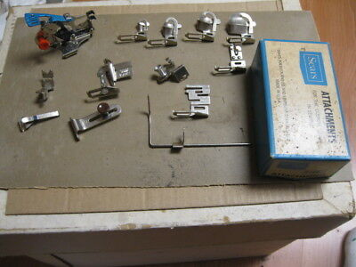 Kenmore Sewing Foot Attachments for #158:+  Box,