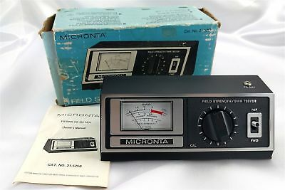 Radio Shack MICRONTA 21-525B Field Strength and SWR Tester