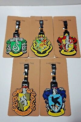 NEW Harry Potter For Hogwarts Luggage Tag Holder Travel Baggage Portable Label