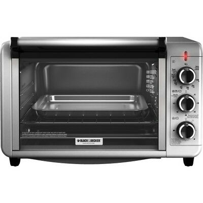 NEW Spectrum TO3210SSD 6 Slice Counter Top Toaster Oven BD SS Silver