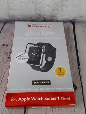 ZAGG InvisibleShield Glass Luxe for Apple Watch (Series 1) 42mm Screen Protector