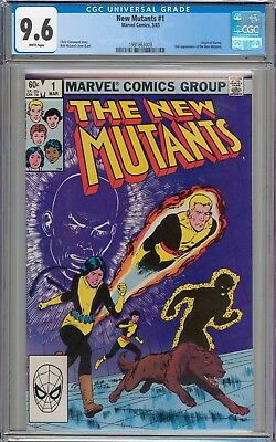 New Mutants #1 CGC 9.6 NM+ 1st Appearance of Karma WHITE PAGES