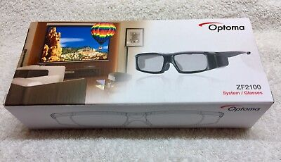 Optoma ZF2100 3D Glasses (Full System)