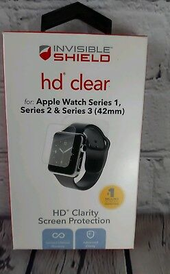 ZAGG Invisible Shield HD Clear for Apple Watch Series 1, 2 & 3 (42 mm)
