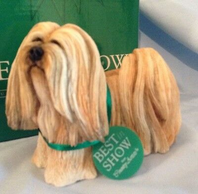 """Country Artists Dogs Lhaso Apso Standing 3.25"""" Resin 04446 Best in Show  $17.99"""