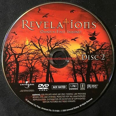 REVELATIONS - OMNIUM FINIS IMMINET  * DISC 2  DVD Replacement  ~ *DISC ONLY (r)