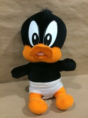 """12"""" Looney Tunes Lovables Plush Baby Daffy Duck Warner Brothers"""