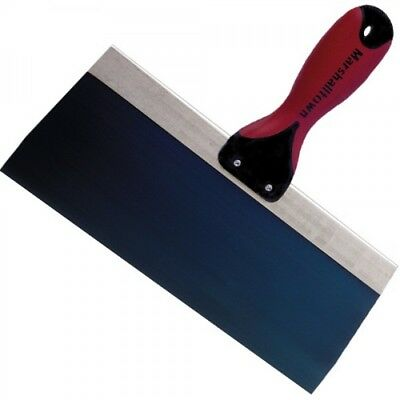 "Marshalltown 10"" Blue Steel Drywall Taping Knife Trowel With DuraSoft® Handle"