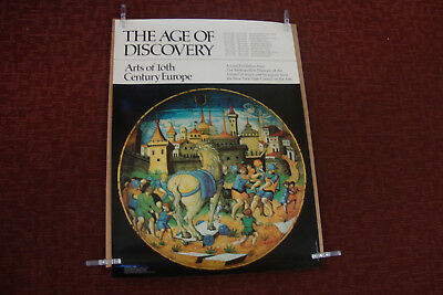 The Age Of  Discovery Vintage   Metropolitan Museum Of Art Poster  Print