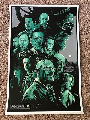 BREAKING BAD Ken Taylor Art Poster RARE Print Limited Numbered xx/300