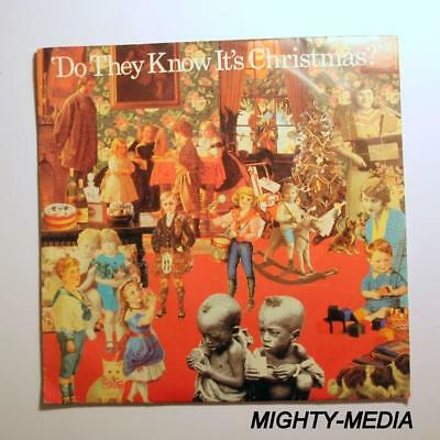 """BAND AID  - DO THEY KNOW IT'S CHRISTMAS  - 7"""" Vinyl Record : EX (s172)"""