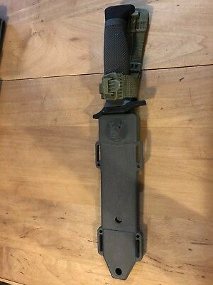 """7.5"""" MILITARY TACTICAL COMBAT KNIFE w/ SHEATH Survival HUNTING Bowie Fixed Blade"""