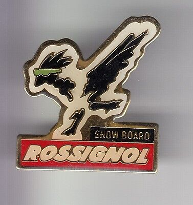 Rare Pins Pin's .. Olympique Olympic Albertville 92 Ski Snow Board Rossignol ~17