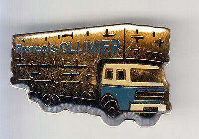 Rare Pins Pin's .. Camion Truck Agriculture Transport Meule Malestroit 56 ~Co