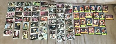 Vintage Star Trek 1976 Topps Trading Cards LOT 51 Cards + ALL 22 Stickers